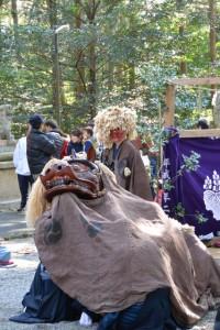 獅子神楽、脇出(一之瀬神社)