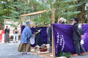 獅子神楽、南中村(一之瀬神社)