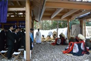 御頭神事-神社祭典(高向大社)