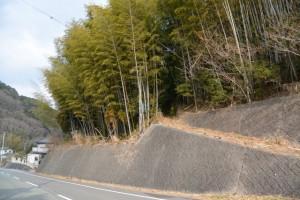滝後橋(南勢奥川)から五ヶ所浅間山の登り口へ