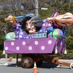 「月夜見尊」ねぶた飾り車(宮後奉献団)