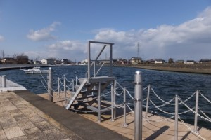 川の駅 二軒茶屋(勢田川)