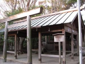 河邊七種神社の鳥居(伊勢市河崎) 2011年01月09日時点