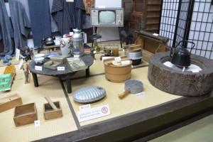 松阪市立歴史民俗資料館の2階展示場