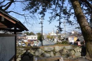 国史跡 松坂城跡からの眺め