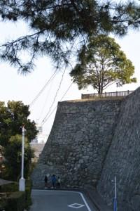 国史跡 松坂城跡の石垣
