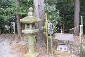 宮域遥拝所、香良洲遥拝所(白山比咩神社)
