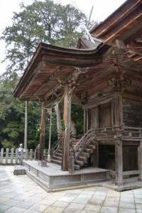 本殿(白山比咩神社、津市白山町南出)
