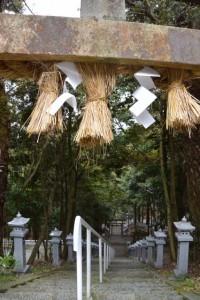 白山比咩神社(津市白山町川口)
