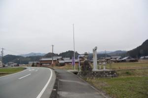 白山比咩神社の鳥居(津市白山町山田野)