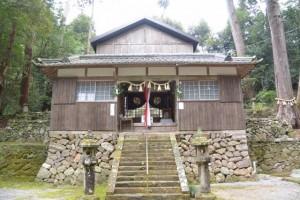 白山比咩神社(津市白山町山田野)