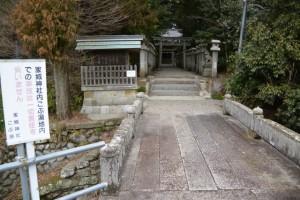 家城神社(津市白山町南家城)