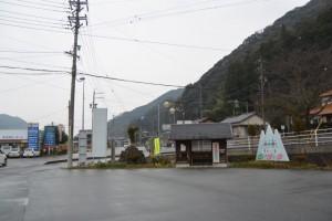 竹原コミュニティー防災センター付近