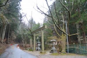 蘭宇氣白神社(松阪市柚原町)