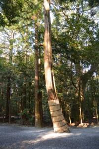 忌火屋殿の前庭付近(外宮)