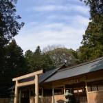 御遷座を終えた佐那神社(多気町仁田)