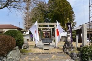 片野八柱神社、長龍神事の日(多気町片野)