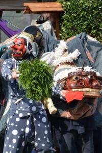 長龍神事(片野八柱神社)