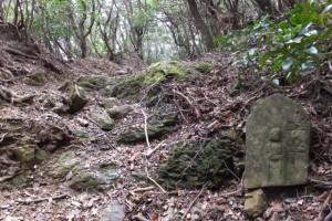 五十五丁地蔵町石、五知道(磯部岳道)