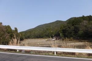 伊勢道路(県道32号)からの風景