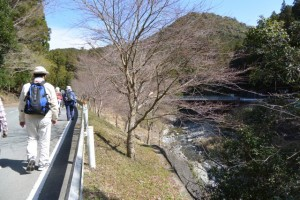 集合場所〜栗谷橋(栗谷川)