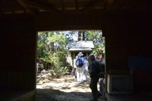 霊符山大陽寺、奥の院(大台町栗谷)