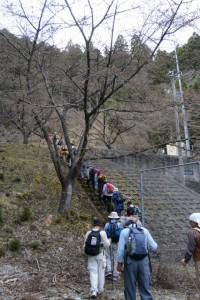 湯谷トンネル付近〜湯谷峠