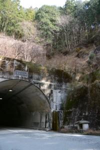 湯谷トンネル付近