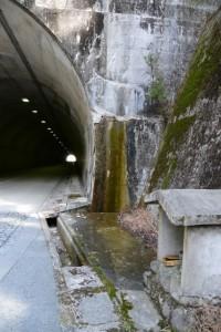 湯谷トンネル付近の祠