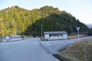 栗谷橋(栗谷川)付近(大陽寺〜集合場所)