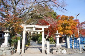 三瀬谷神社(多気郡大台町佐原) 2013年11月24日時点