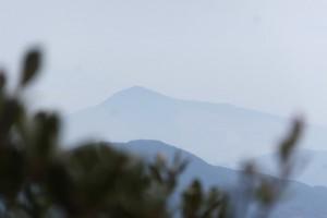 山伏峠からの眺望、五知道(磯部岳道)