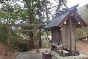 石神神社(国道167号、五知峠〜白木駅)