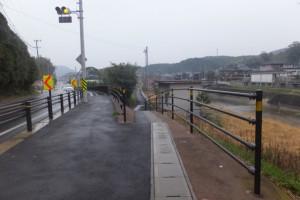 国道167号、近鉄白木駅〜松尾駅付近