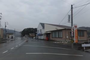 加茂郵便局付近(国道167号)