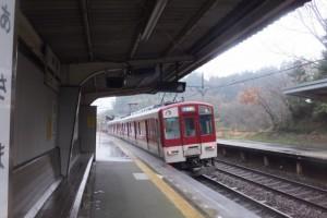 近鉄鳥羽線 朝熊駅