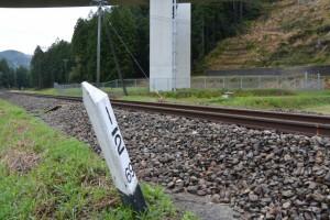 JR紀勢本線 大杉踏切〜菅合大橋(大内山川)