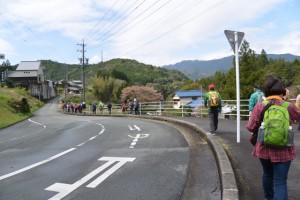 国道42号 出谷交差点付近から熊野古道伊勢路へ