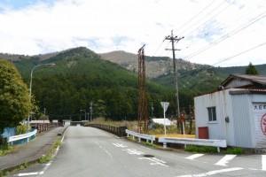 熊野古道伊勢路(JR紀勢本線阿曽駅入口付近)