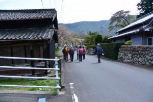 熊野古道伊勢路(大皇神社付近)