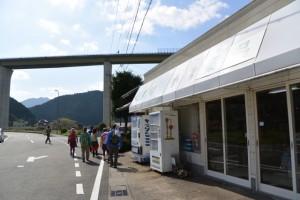 熊野古道伊勢路(JR紀勢本線 一の谷踏切付近)