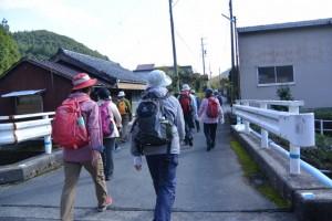 熊野古道伊勢路(庚申堂〜不動野橋(大内山川))