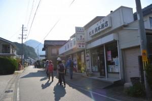 熊野古道伊勢路(江尻橋南交差点〜JR紀勢本線 大内山駅付近)