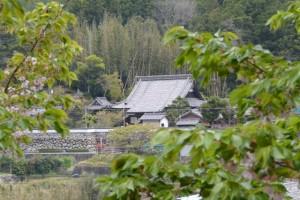 桂林寺の遠望(伊勢市横輪町)