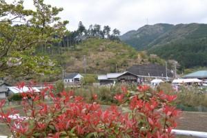 桂林寺付近からの宮山遠望(伊勢市横輪町)