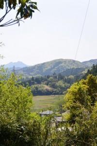 東光山醫王寺付近からの風景(津市白山町川口)