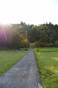 井生白山比咩神社(津市一志町井生)
