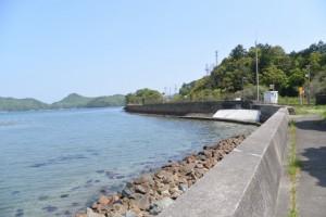 JR参宮線 池の浦シーサイド駅付近