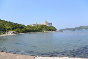 JR参宮線 池の浦シーサイド駅付近からの眺望