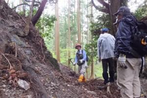 地蔵峠(大台町三瀬から多気町車川へ)